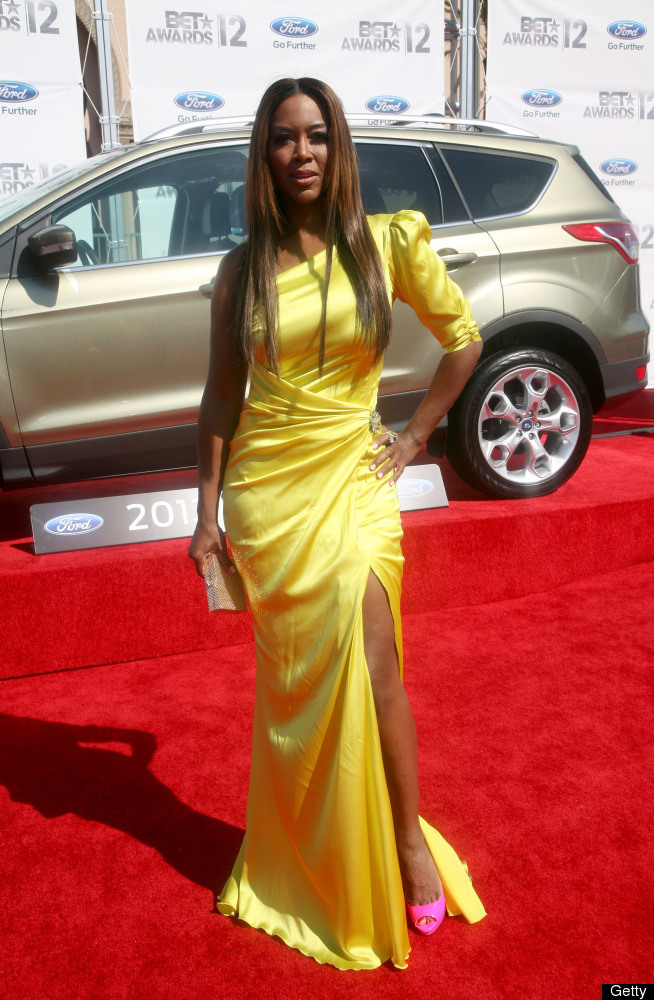 Kenya Moore Glowing Color
